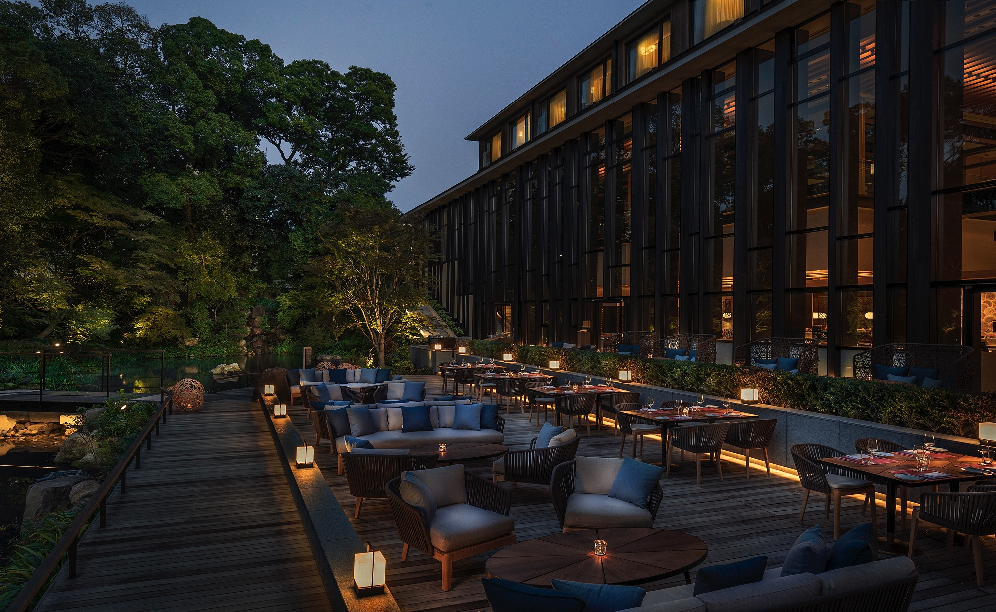 Four Seasons Kyoto – Brasserie Deck