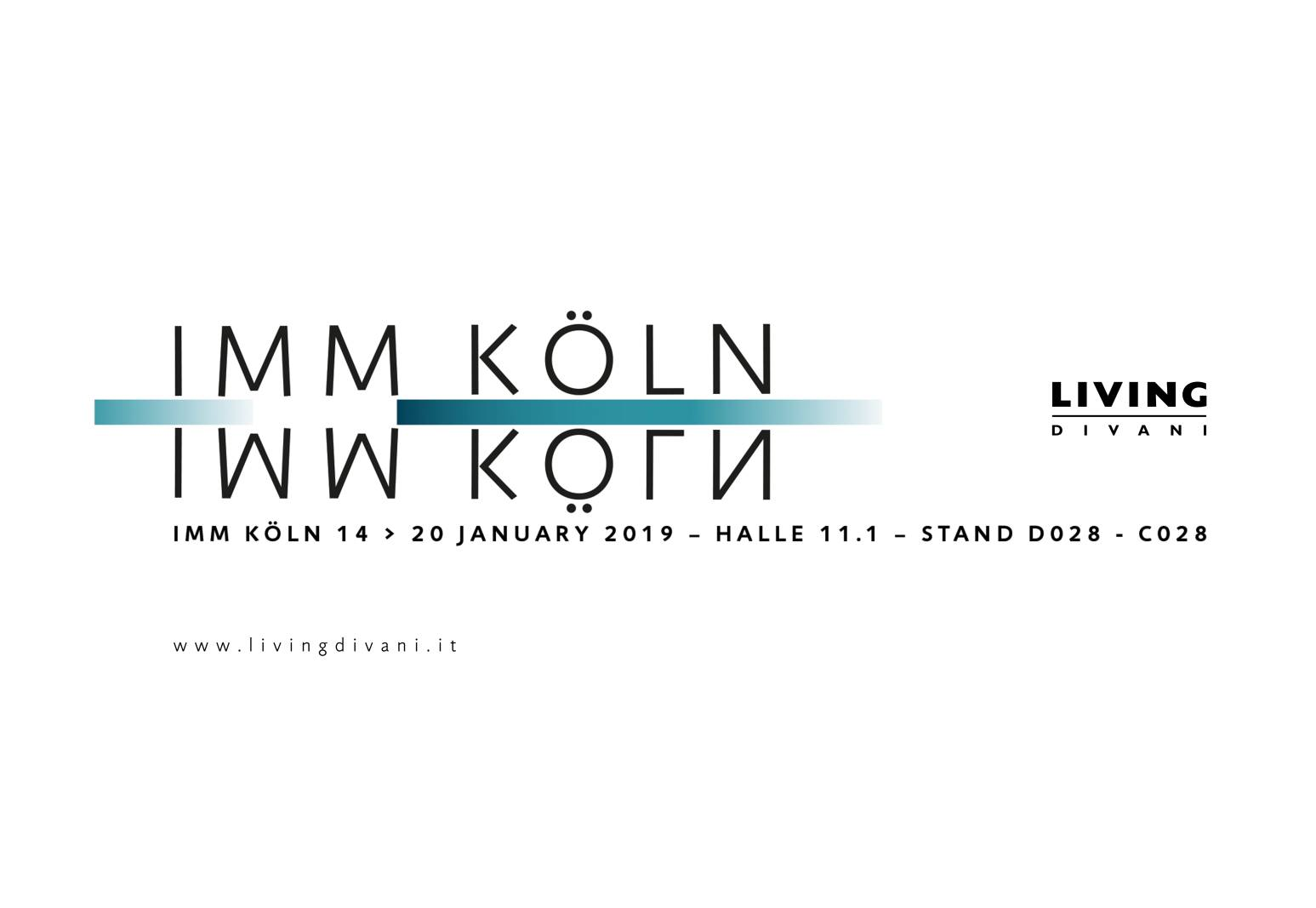 IMM Cologne_Living Divani_Jan_2019