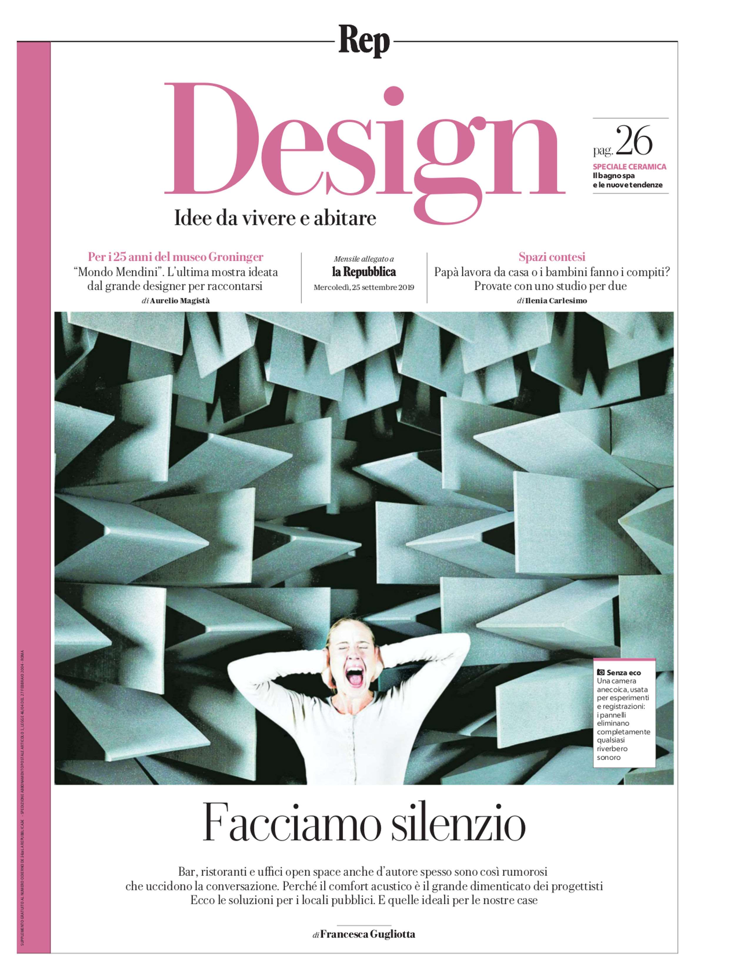 La Repubblica ITA – Gli Album de la Repubblica 2019-9-25 Cover