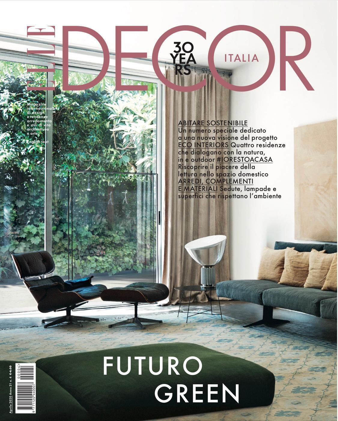 ELLE DECOR Italia_aprile 2020_cover