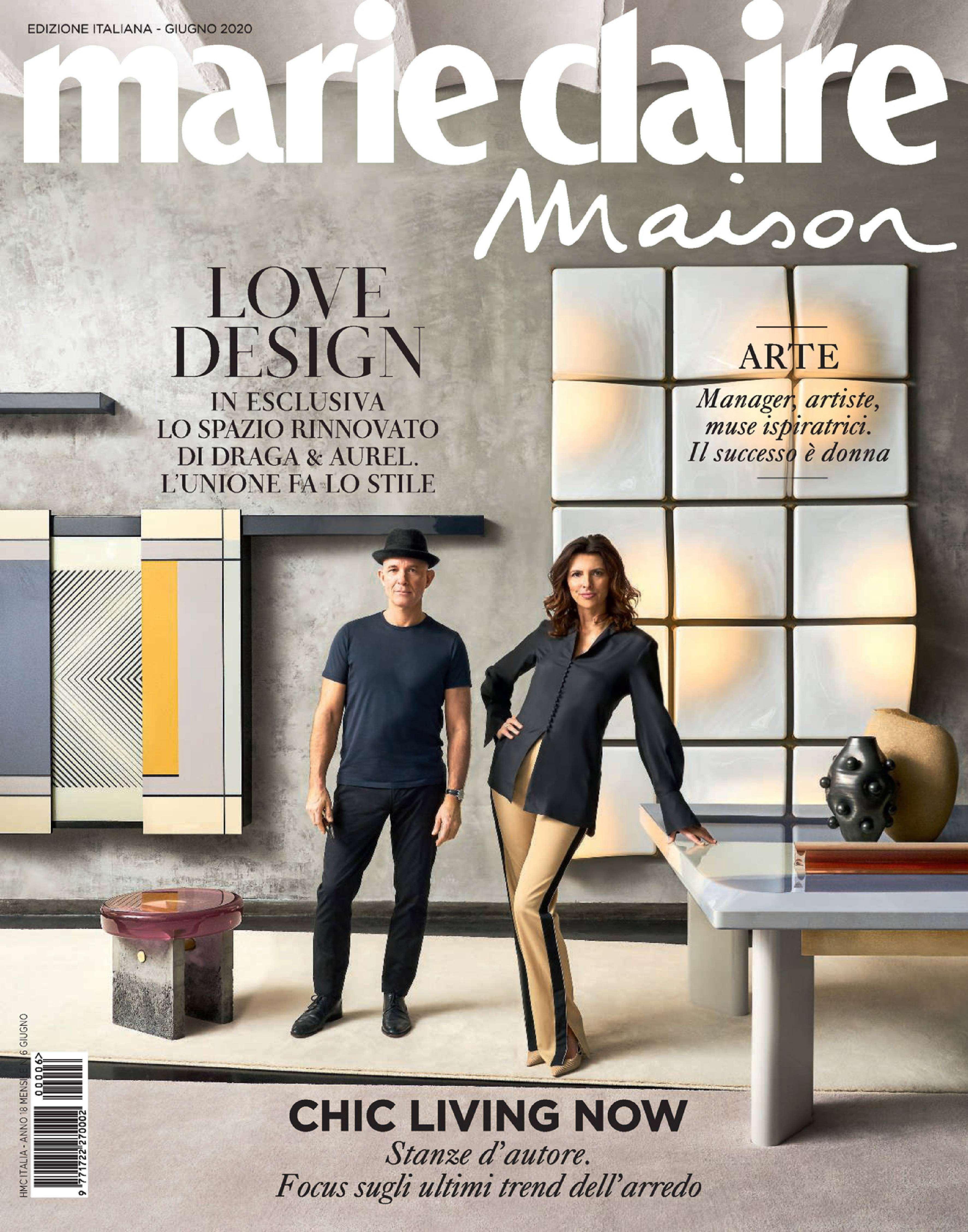 2020.06.01 – Marie Claire IT – Marie Claire Maison – cover