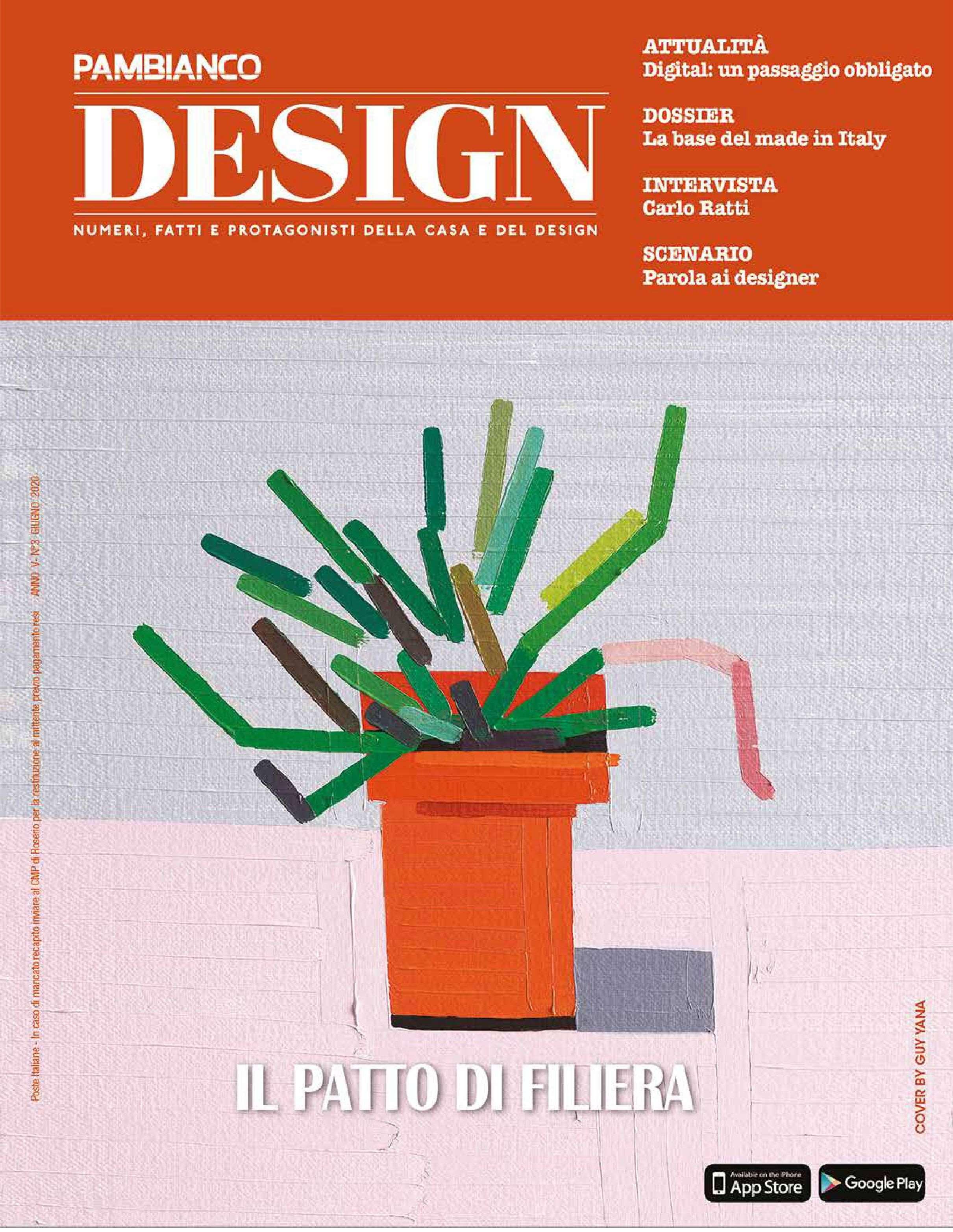 2020.06.01 – Pambianco Magazine IT – Design – cover