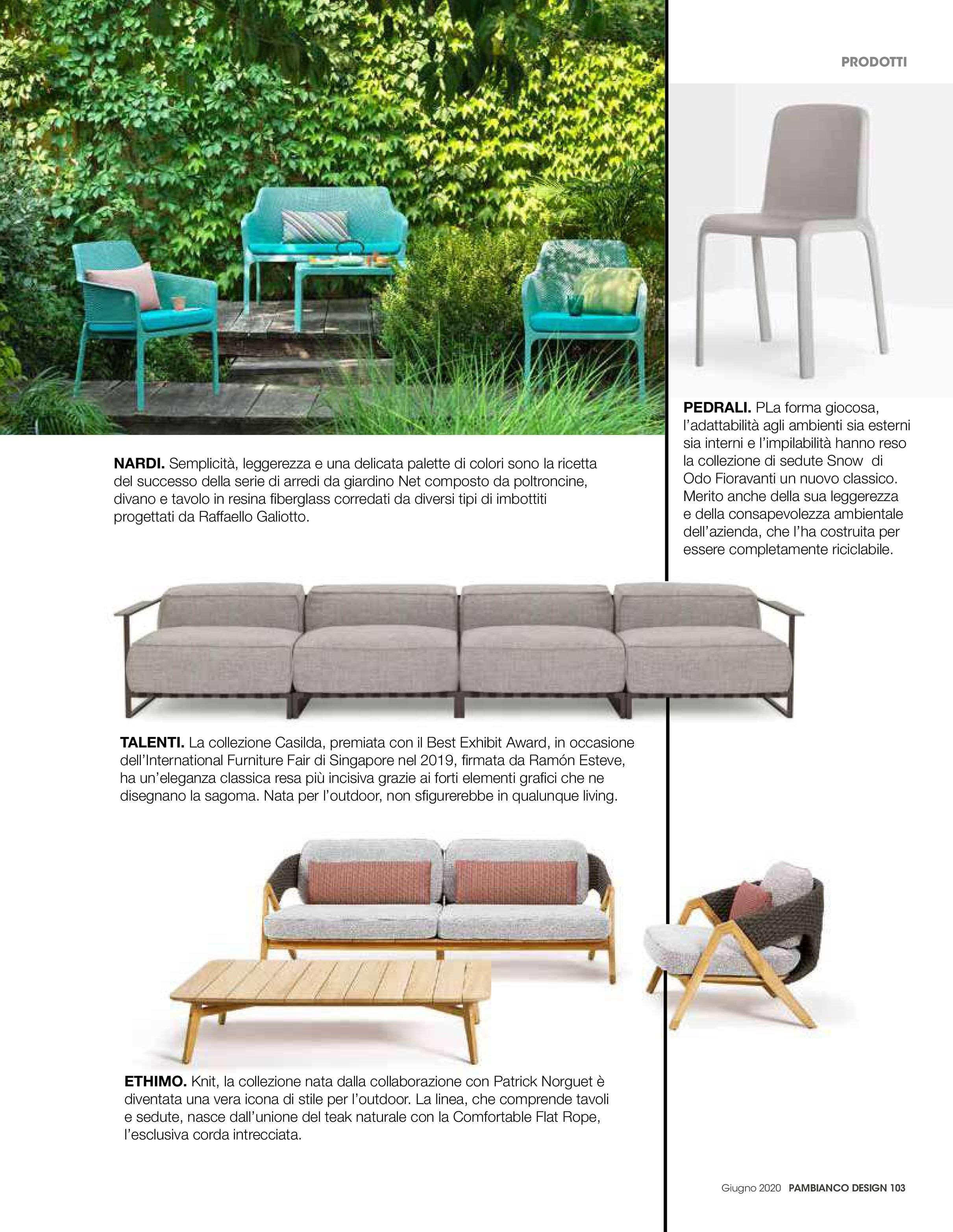 2020.06.01 – Pambianco Magazine IT – Design – pag103