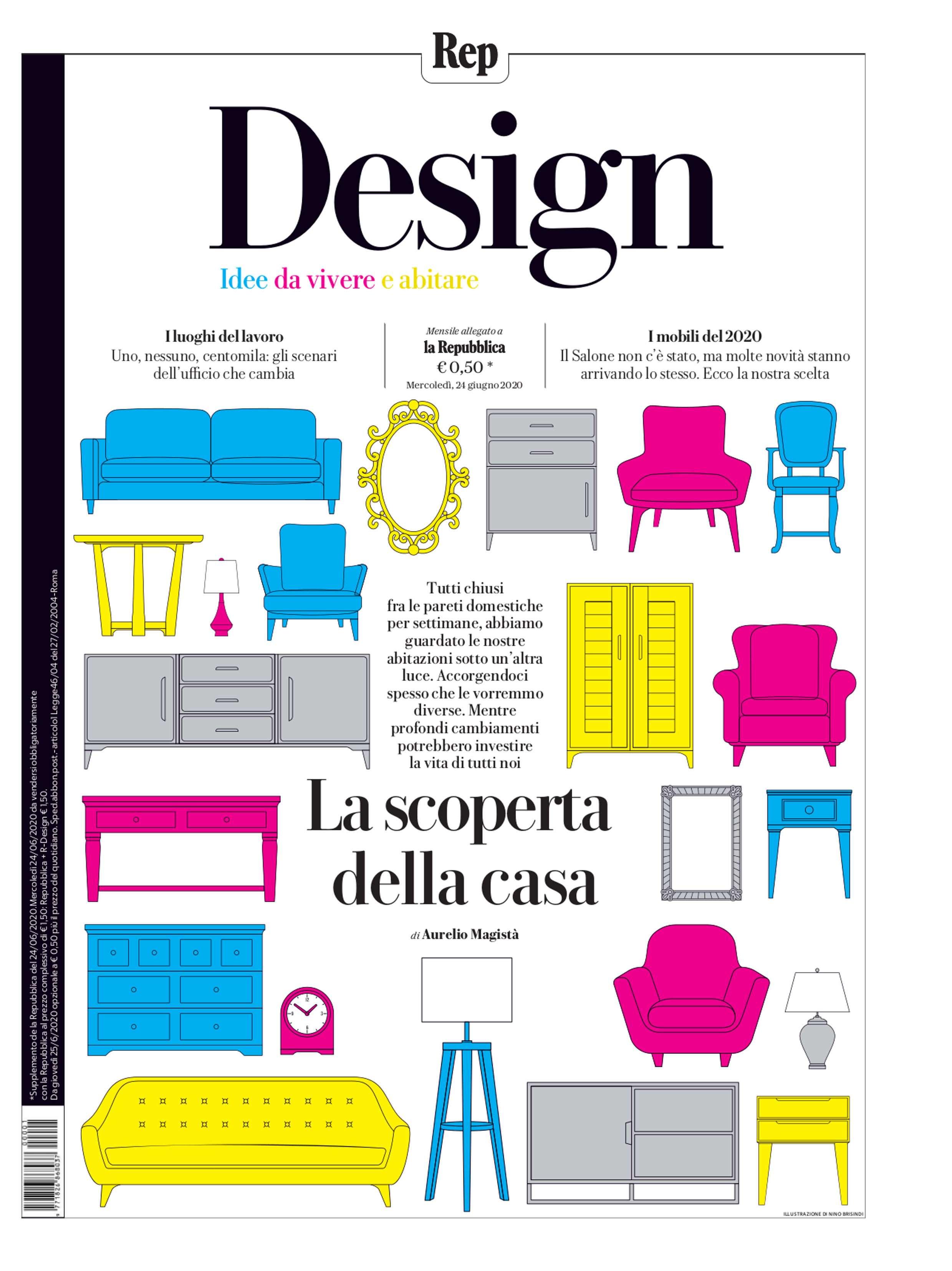 2020.06.24 – La Repubblica IT – Gli Album de la Repubblica – cover