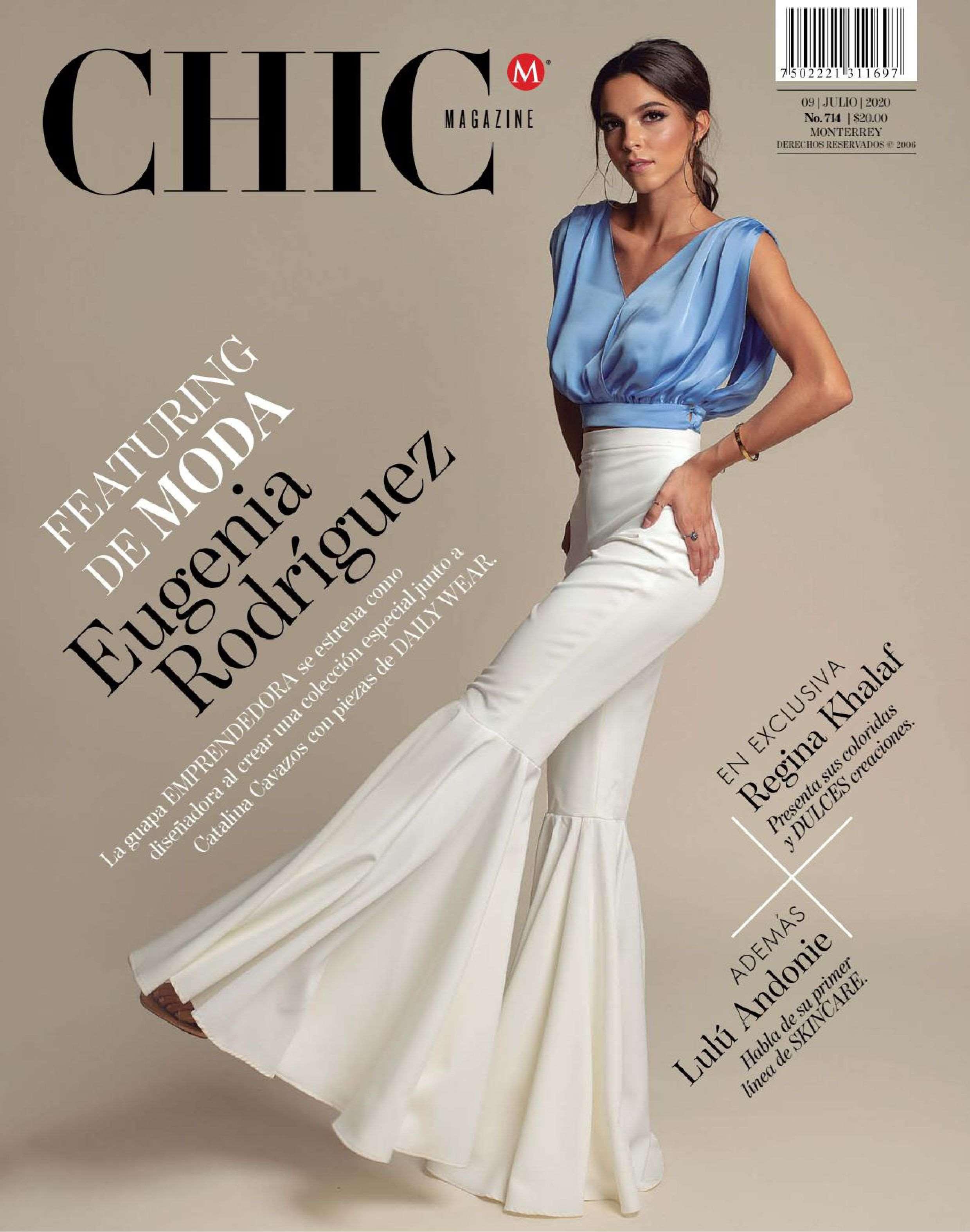 2020.07.09 – Chic Magazine Monterrey MX – cover