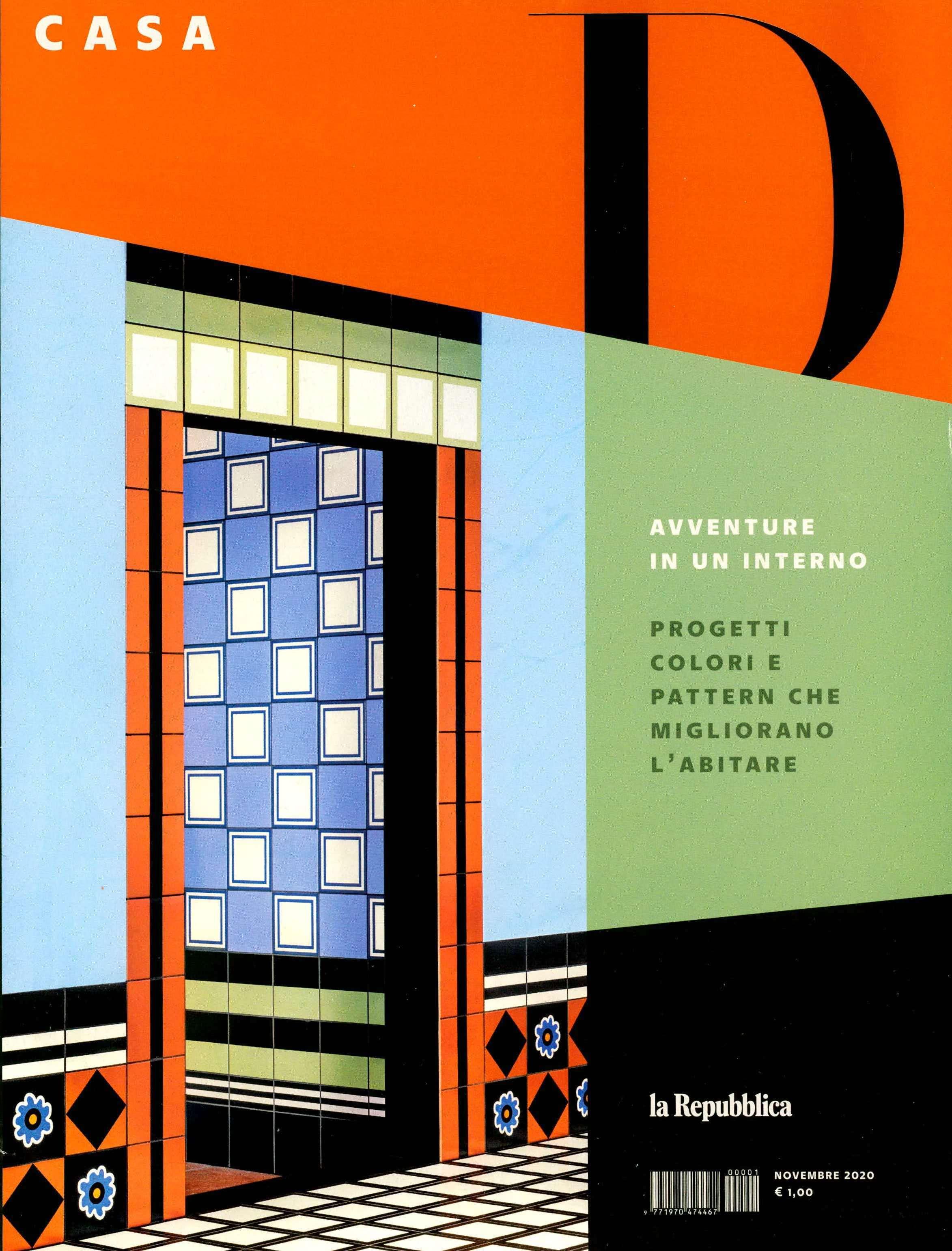 2020.11.01 – D La Repubblica Casa IT – cover
