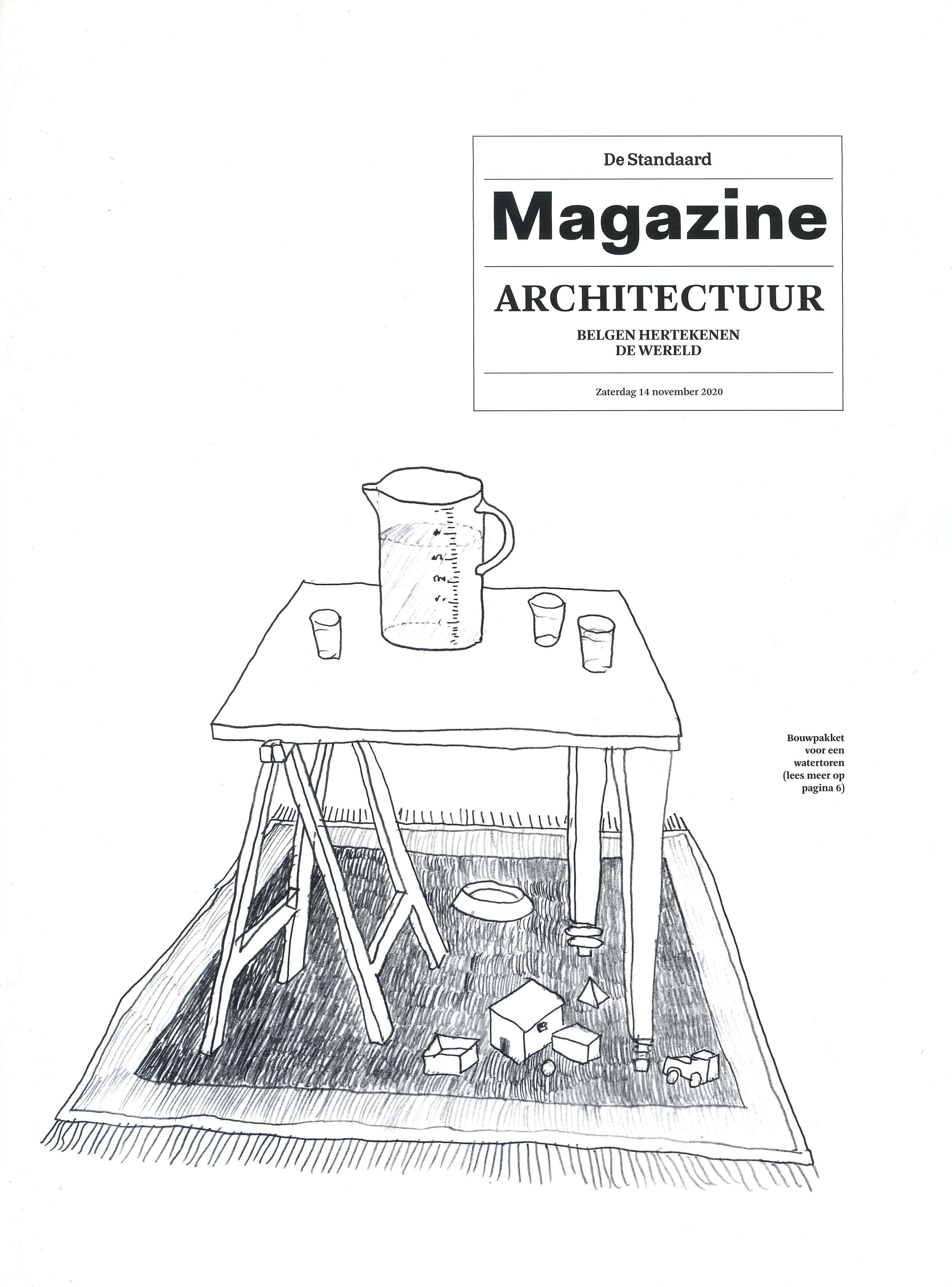 DE STANDAARD Belgio_14 Novembre 2020_cover