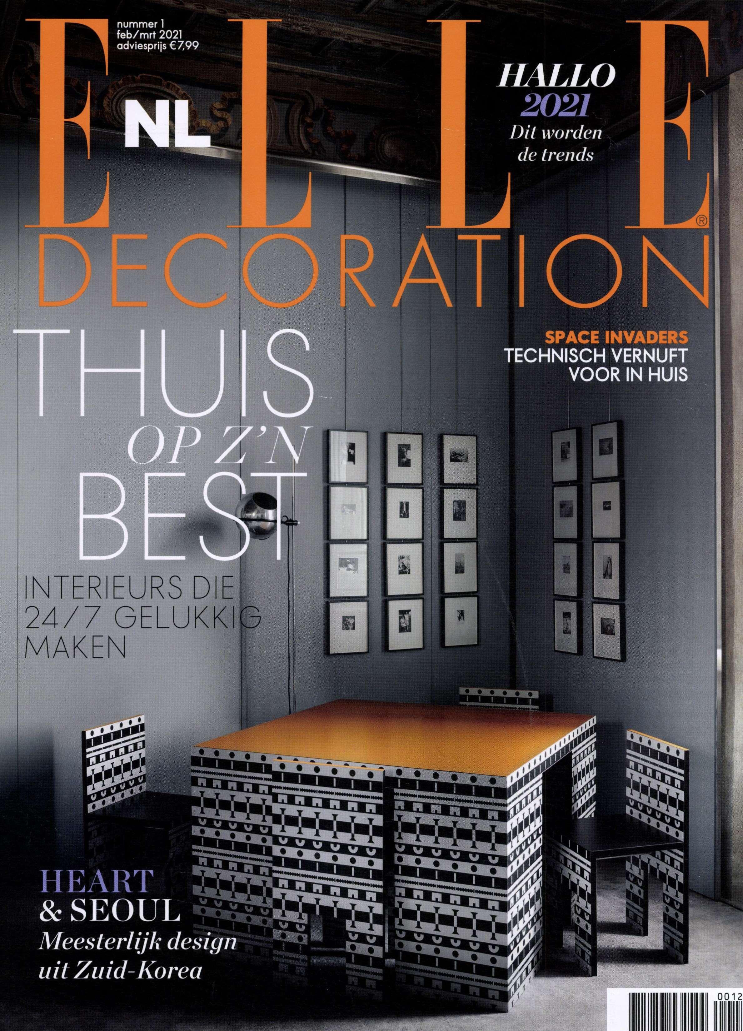 2021.02.01 – Elle Decoration NL – cover
