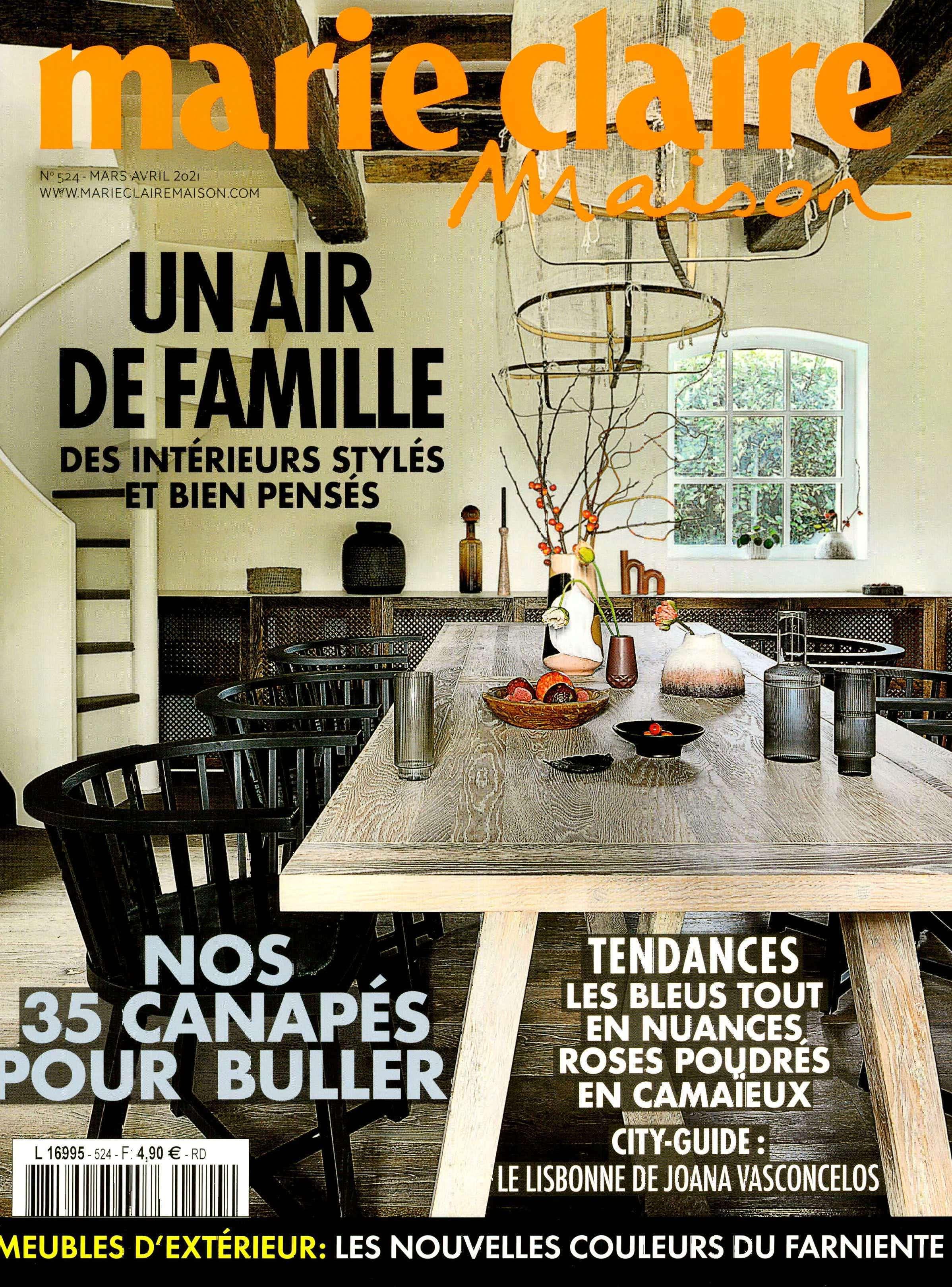 2021.03.01 – Marie Claire Maison FR – cover
